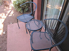 Sedona patio
