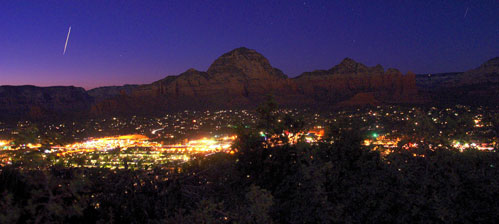 Sedona at Night